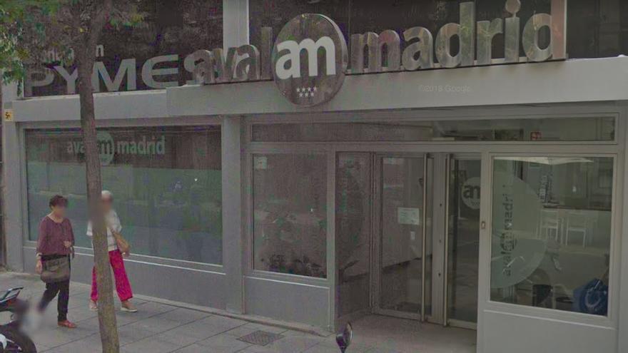 Fachada de la sede de Avalmadrid, en la calle Jorge Juan. / Google Maps