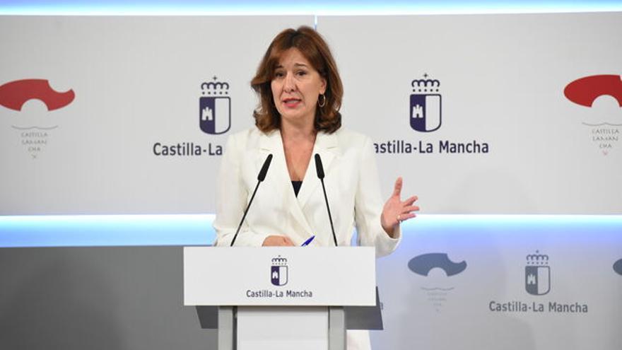 La portavoz del Gobierno regional, Blanca Fernández / JCCM
