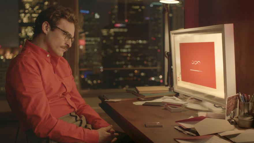 Fotograma de la película de  'Her' de Spike Jonze