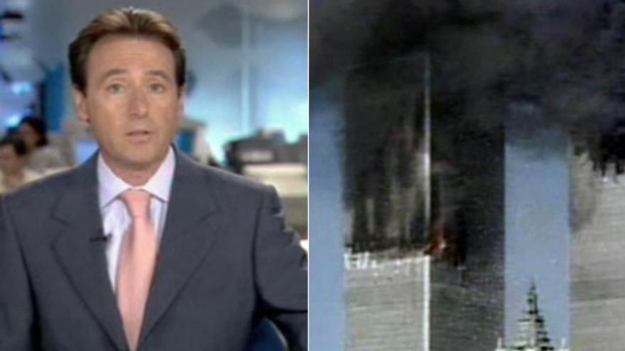 """Matías Prats y su inolvidable retransmisión del 11-S: """"¡La otra torre, Ricardo, la otra torre!"""""""