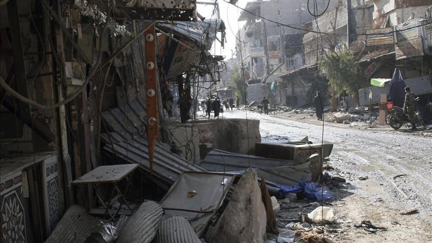 Mueren al menos 59 combatientes sirios en choques entre grupos rebeldes
