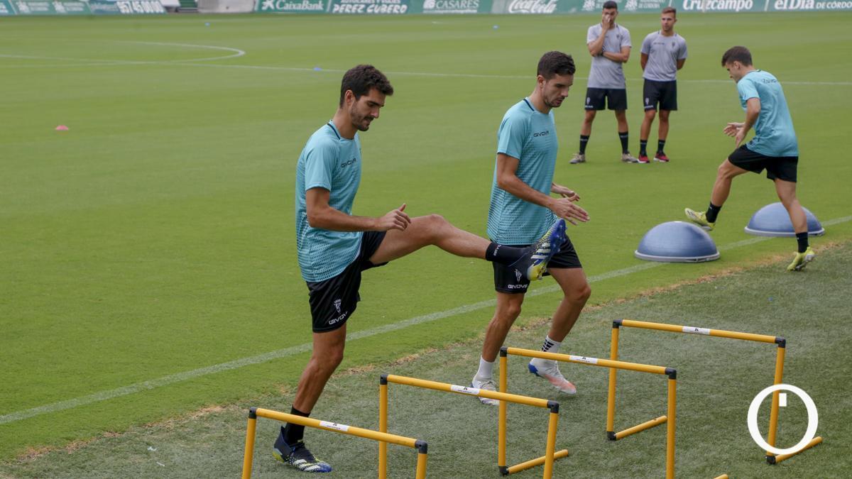 Bernardo Cruz, en un entrenamiento