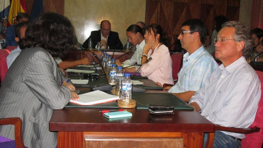 En la imagen, sesión plenaria celebrada este martes a petición de CC. Foto: LUZ RODRÍGUEZ