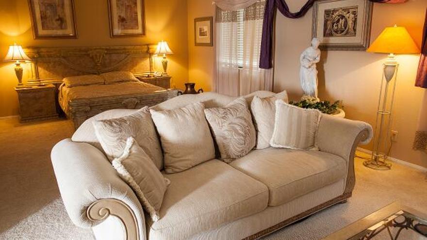 Los clientes pueden elegir una habitación temática para pasar la noche