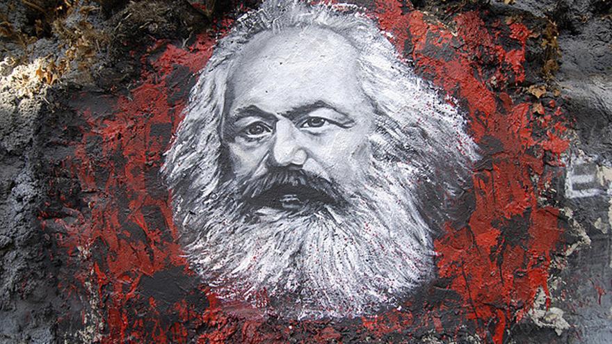 El retrato de Karl Marx