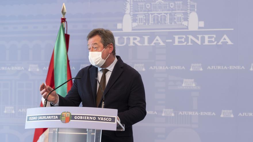 Archivo - El portavoz del Gobierno Vasco, Bingen Zupiria
