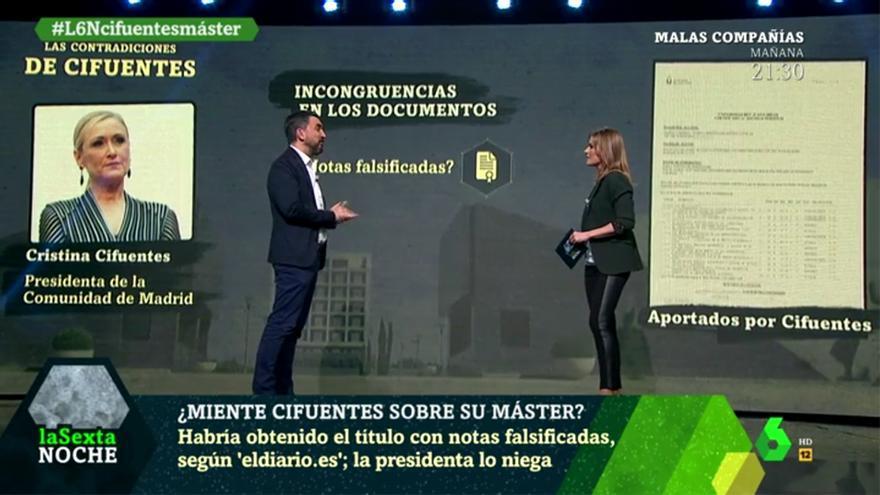 Nacho Escolar analiza en laSexta Noche el escándalo de Cifuentes