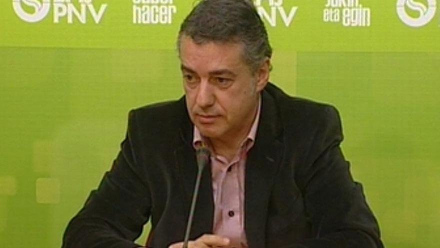 Iñigo Urkullu, presidente del EBB del PNV