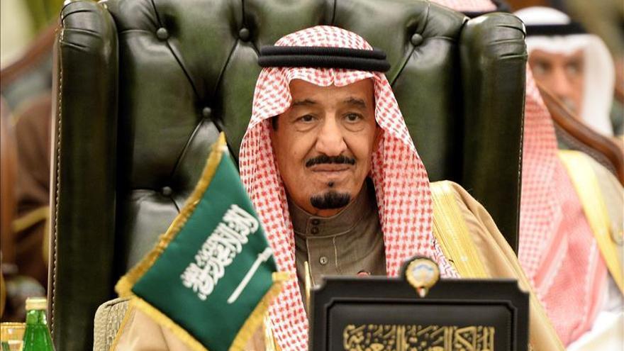 Salman bin Abdelaziz, rey de Arabia Saudí.