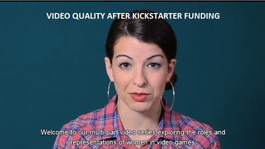 Anita Sarkeesian es la víctima más visible del Gamersgate
