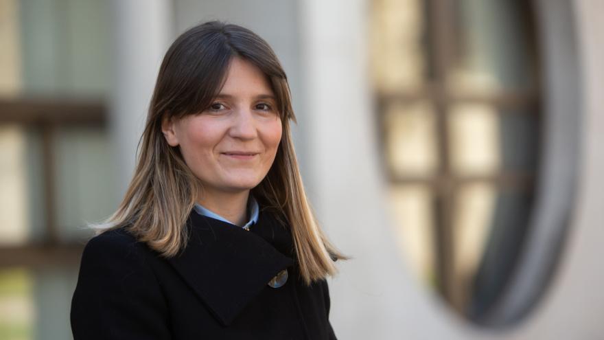 La profesora de Derecho en la Universidad Pública de Navarra Paz Francés.