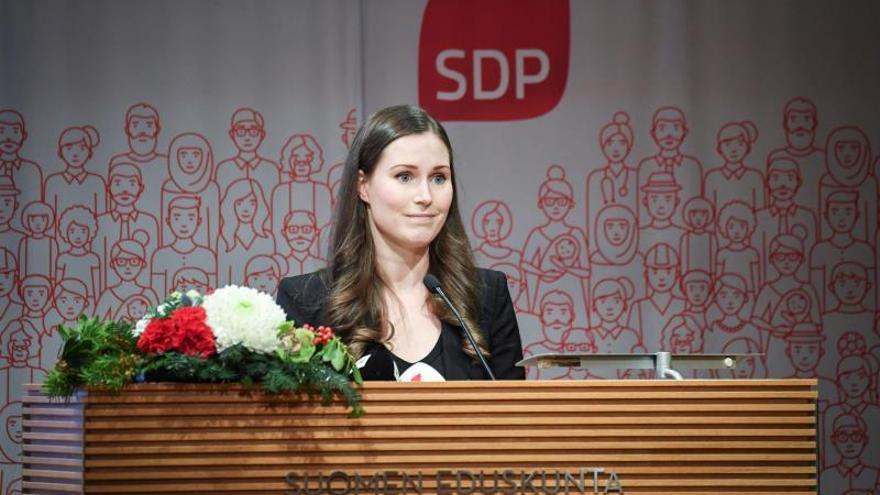 Sanna Marin, la primera ministra más joven de la historia de Finlandia