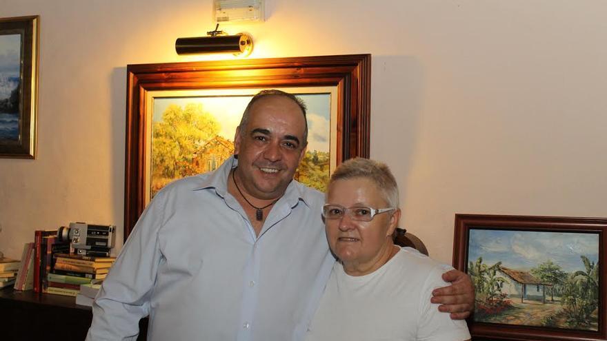 Chano Domínguez y Ania Wieremiej en La Mocanera. Foto: FERNANDO RODRÍGUEZ.