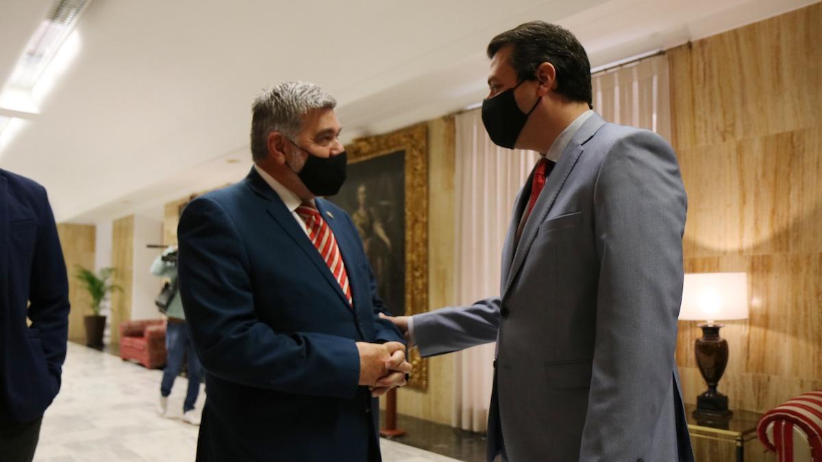 El alcalde de Sevilla y el alcalde de Córdoba