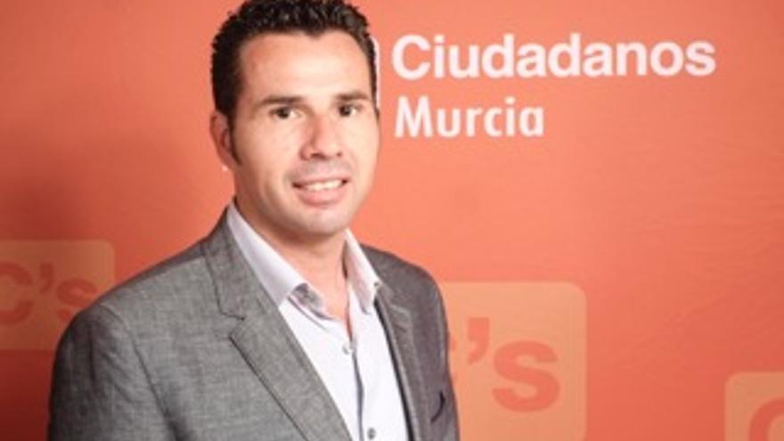Mario Gómez, portavoz de Ciudadanos en el Ayuntamiento de Murcia