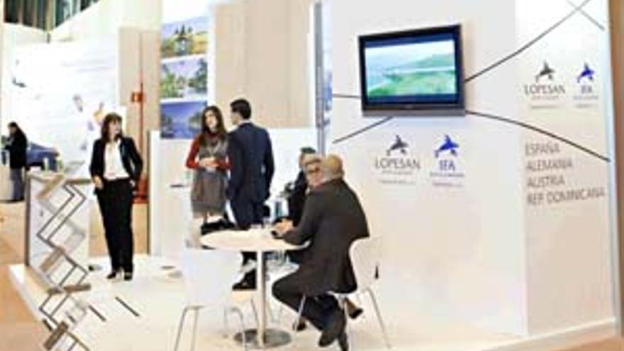 Lopesan Hotel Group es la única firma canaria que cuenta con 'stand' propio en Fitur.