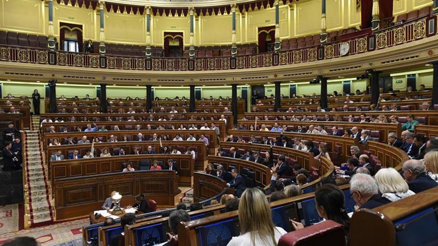 El Congreso intenta desatascar el informe de actividades de los diputados