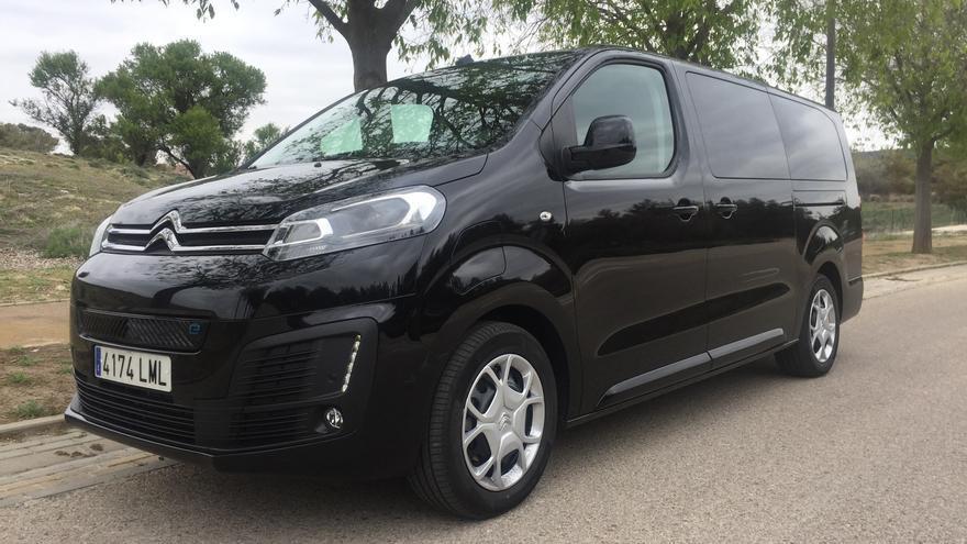 Citroën ë-SpaceTourer, la opción 100% eléctrica para familias numerosas y traslado de viajeros