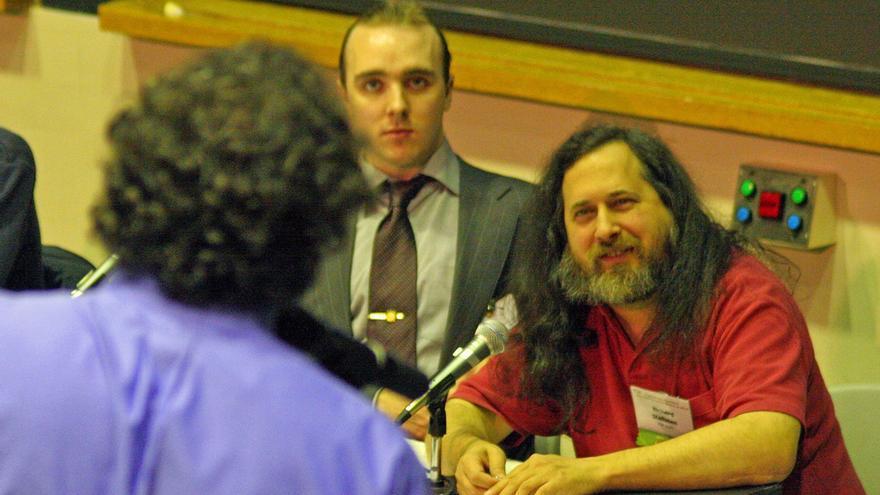 Richard Stallman, creador del movimiento GNU y la licencia GPL (Foto: Webmink, Flickr)