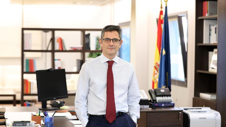 Félix Bolaños, ministro de la Presidencia, Relaciones con las Cortes y Memoria Democrática, para elDiario.es