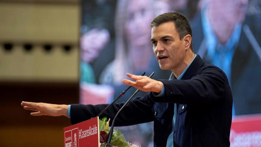 """Sánchez acusa a secesionistas y """"derechas"""" de vivir mejor en la confrontación"""