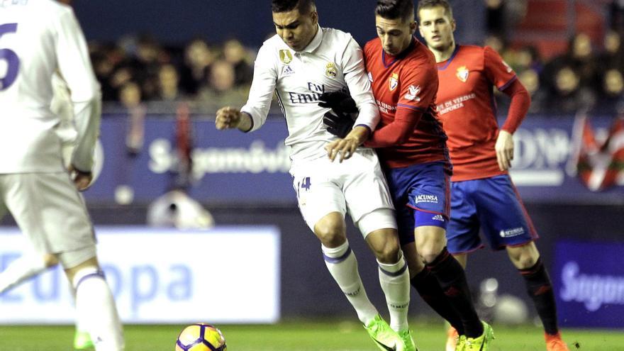 El Real Madrid cerró la jornada del sábado ante Osasuna.