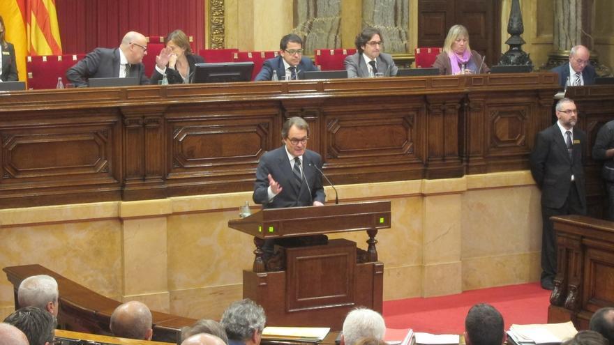 """Artur Mas acusa al Estado de usar """"fondos reservados"""" para frenar el proceso soberanista"""