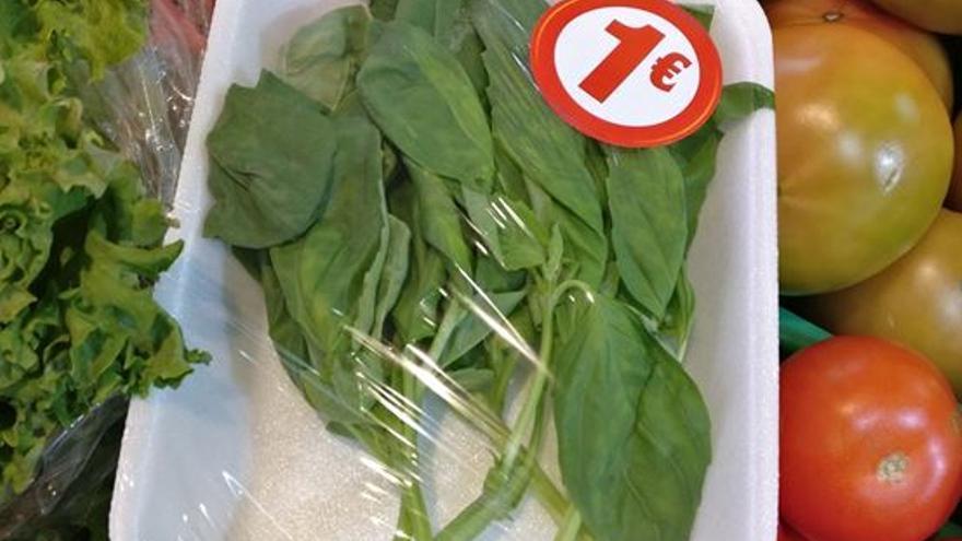 verdura plástico