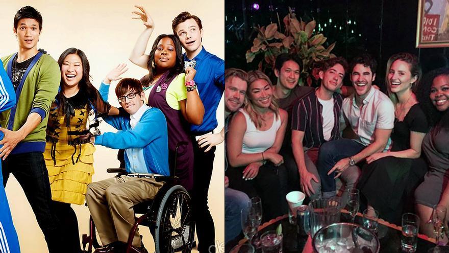 Los protagonistas de 'Glee' se reencuentran 10 años después de su estreno en TV