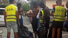 155 personas entran en Ceuta en un salto a la valla con Marruecos