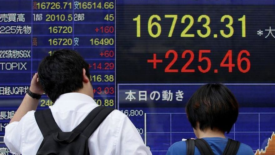 Tokio abre con una subida del 0,54 por ciento hasta los 16.762,58 puntos