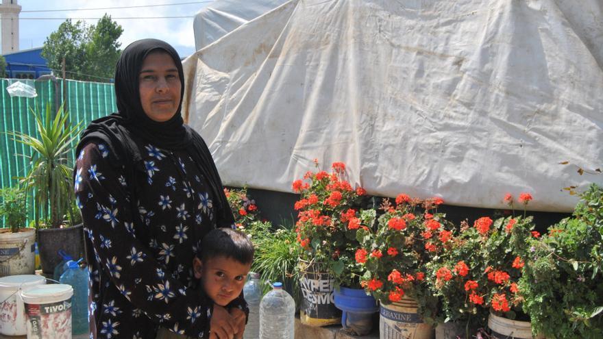 Para Fátima y su marido, Omar, quedarse en Raqqa cuando cayó bajo el control del ISIS no era una opción.