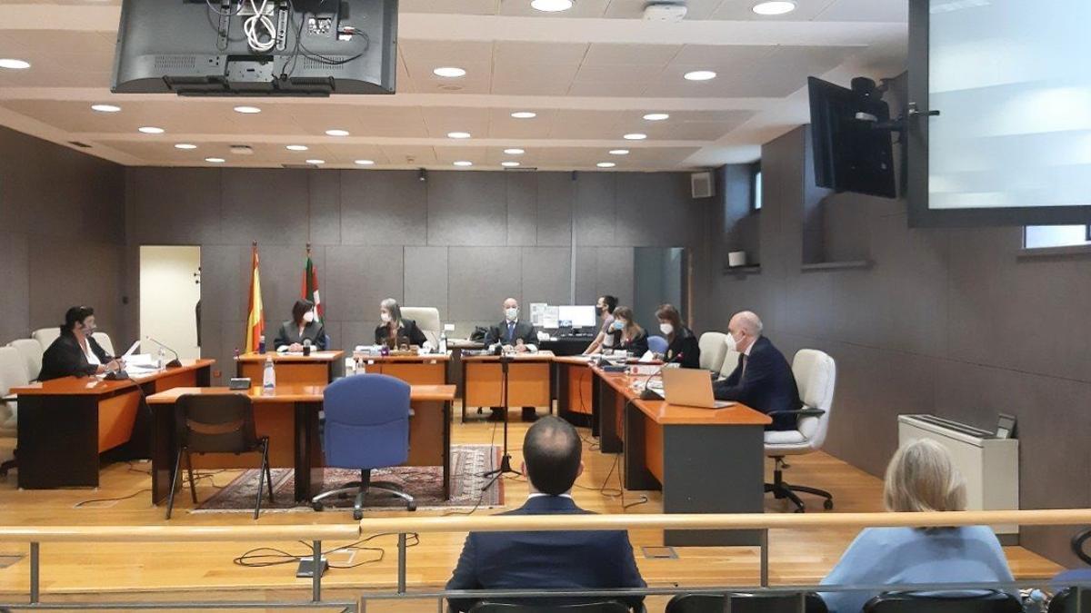 Un momento del juicio del 'Caso Costumero'