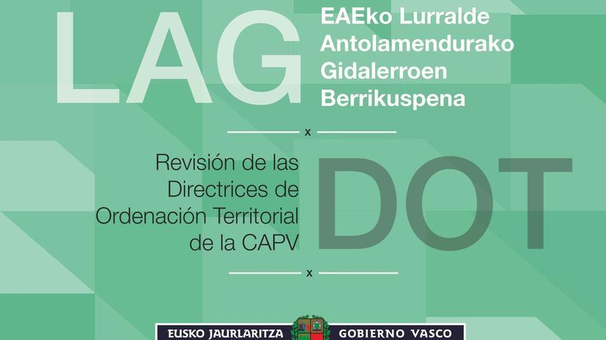 Gobierno vasco abre la revisión de las Directrices de Ordenación del Territorio a un proceso participativo