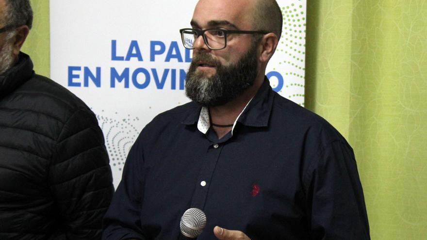 Domingo Isidro Hernández, portavoz de CC en Puntallana y candidato a la Alcaldía.