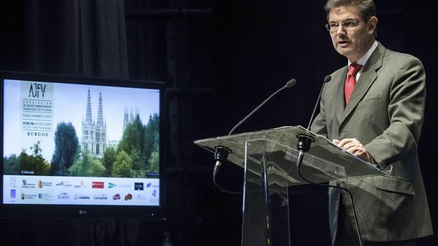 Catalá elogia a los notarios por su labor en mejorar la lucha contra el blanqueo