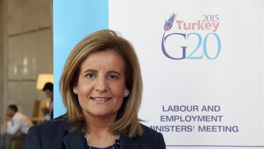 Bañez pone a España como buen ejemplo del crecimiento que busca el G20