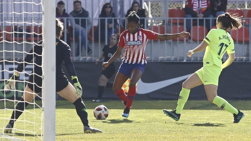 El Atlético cuelga el