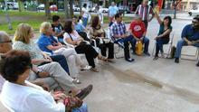 Reunión de Cambiemos Murcia en Beniaján