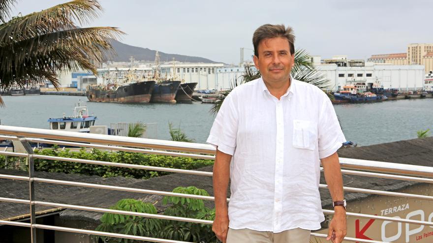 Luis Ibarra, presidente de la Autoridad Portuaria de Las Palmas