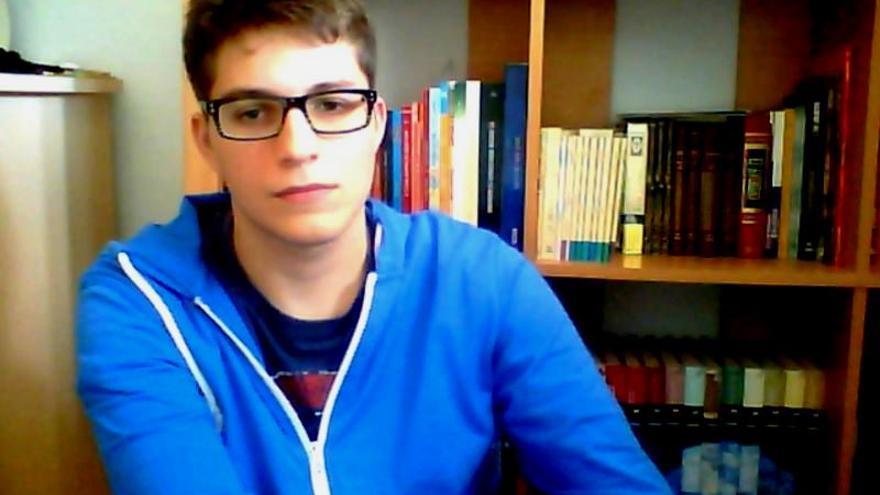 Javier Rodríguez, un joven desempleado de Don Benito