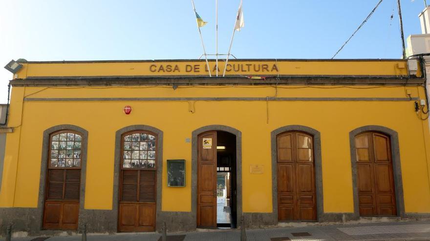 Casa de la Cultura de Tamaraceite, antiguo Ayuntamiento de San Lorenzo. (ALEJANDRO RAMOS)