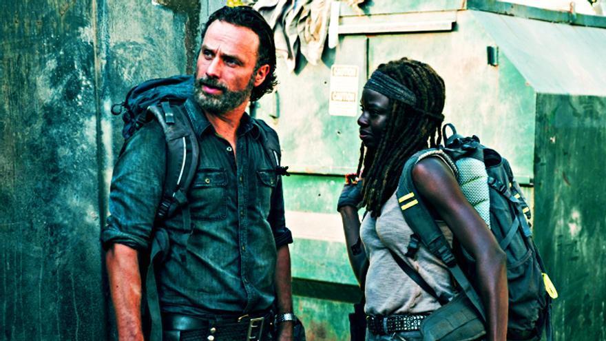 The Walking Dead - Rick y Michonne