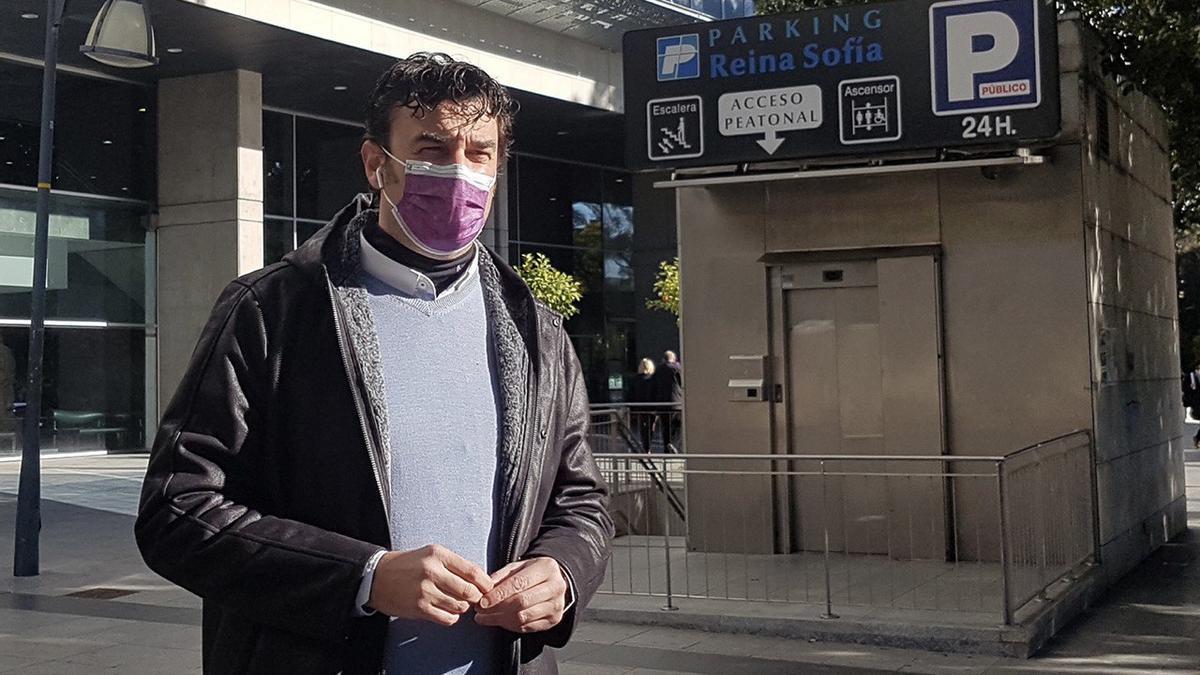 El concejal de Podemos en el Ayuntamiento de Murcia, Ginés Ruiz Maciá