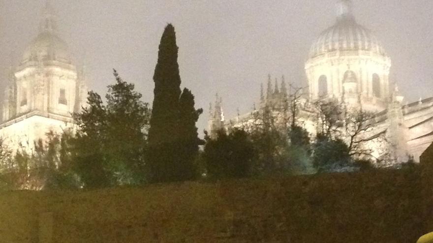 Vista de las dos catedrales de Salamanca. J.S.