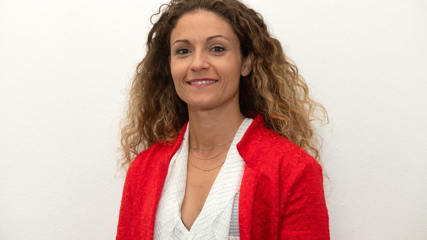 Ainoa Quiñones, portavoz adjunta del PSOE en Santander.