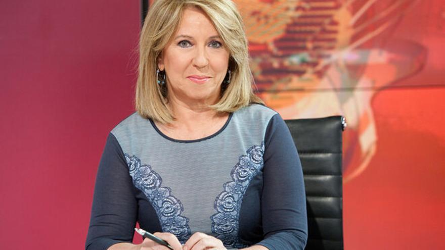 La periodista Alicia Gómez Montano en una imagen de archivo