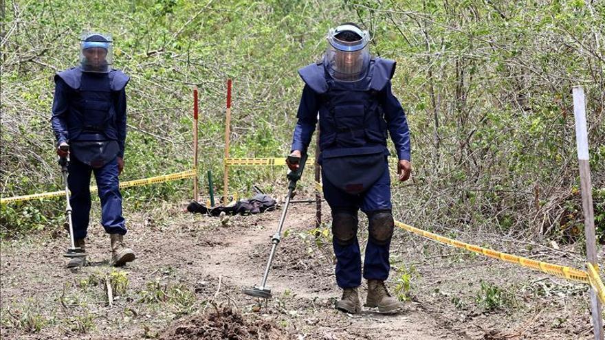 Tecnología, clave para limpiar vastas zonas colombianas de minas antipersona