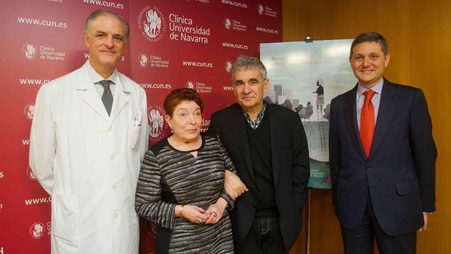 """Bernardo Atxaga: """"Existe un estereotipo en torno a las personas enfermas que las aísla todavía más"""""""