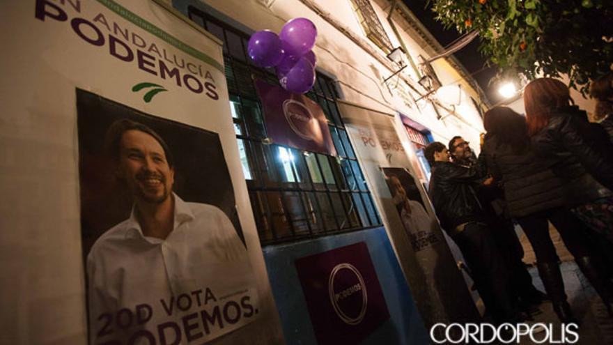 Antigua sede de Podemos en Córdoba   MADERO CUBERO